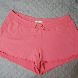 Old Navy Lounge Shorts Coral EUC!